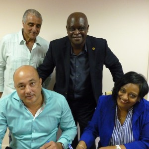 St. Maarten Tourism Authority Foundation signing into existence on August 19th, 2014