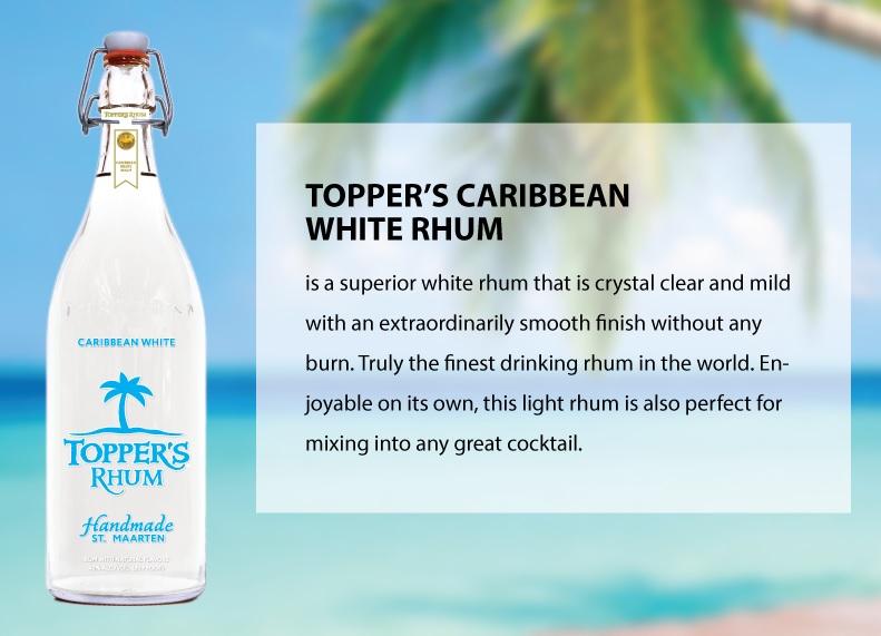 Topper's Caribbean White Rhum