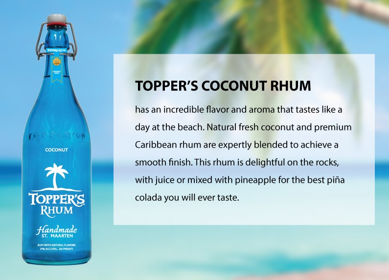 Topper's Coconut Rhum