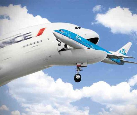 AF eats KLM