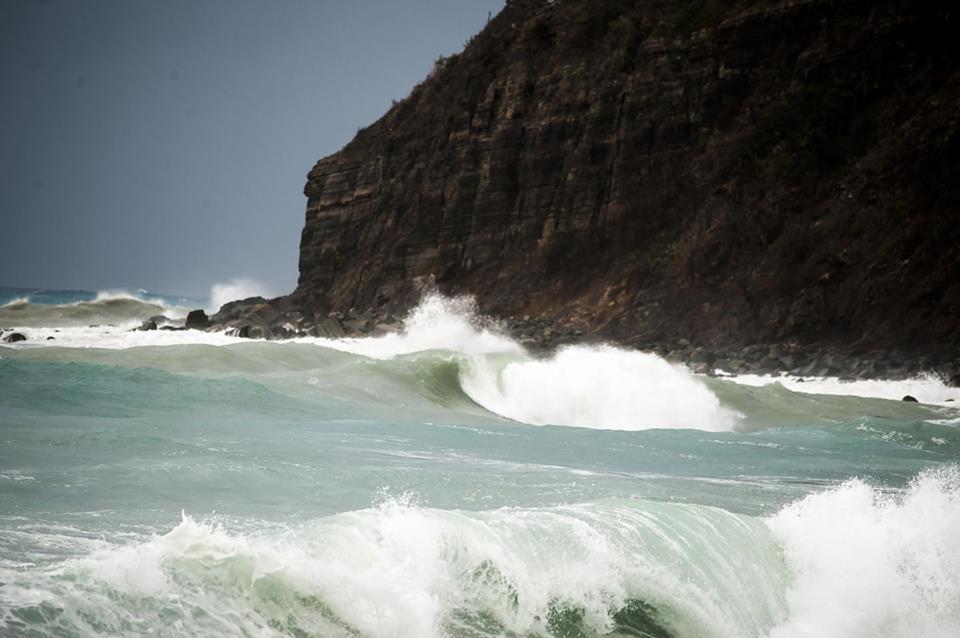 Angry Waves at Belair