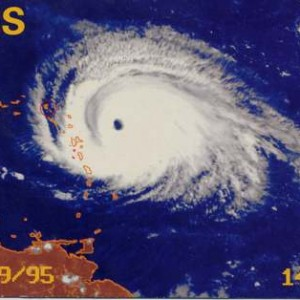 Hurricane Luis - Sept. 4th, 1995