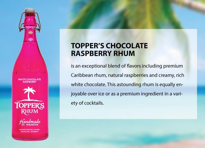 Topper's Chocolate Raspberry Rhum