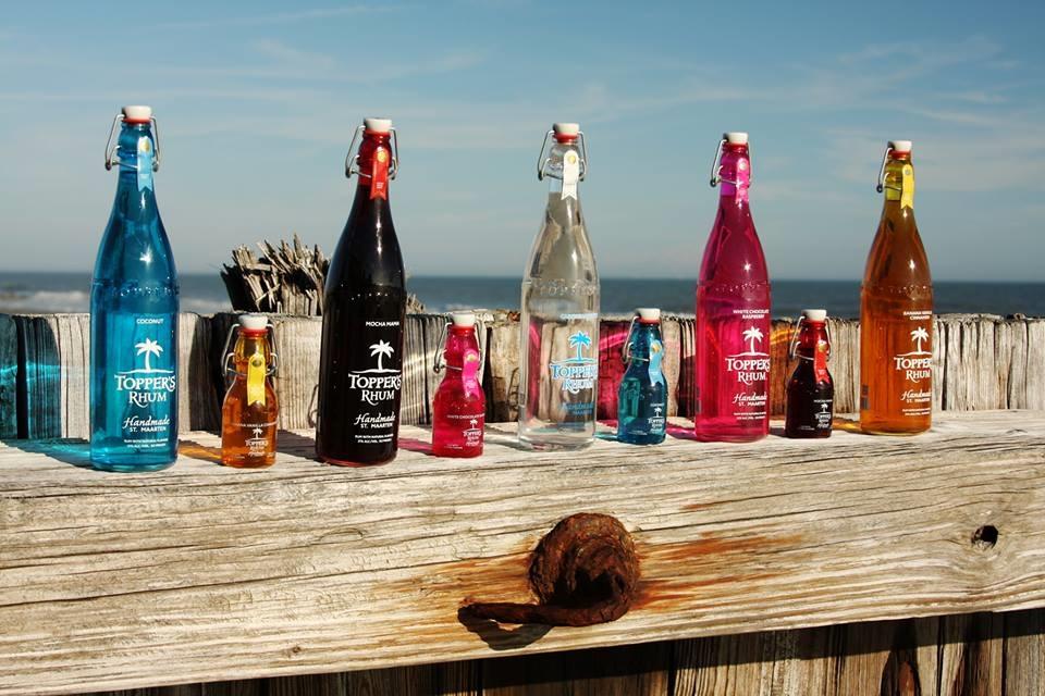 Toppers Rhum Bottles