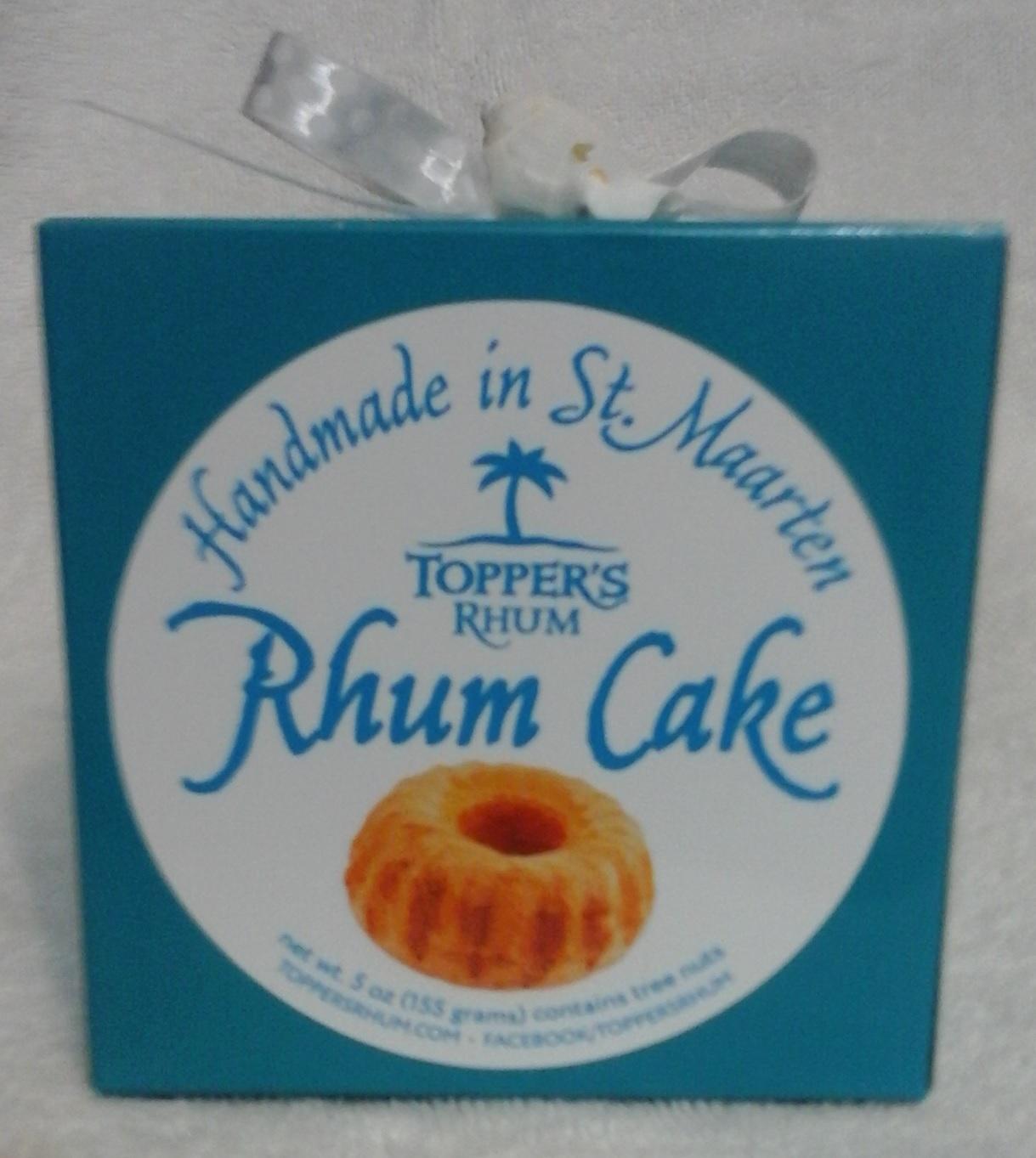 Toppers Rhum Cake Box