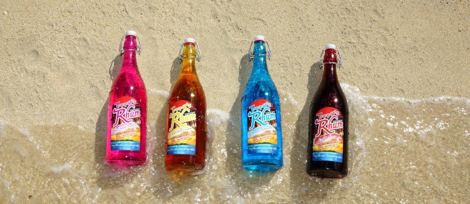 Toppers Rhum Liter Bottles